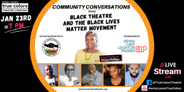 Community Conversation: Black Theatre and the Black Lives Matter Movement